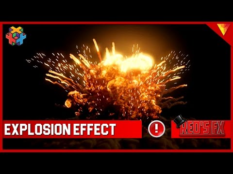 Explosion Effect Hitfilm Express Tutorial | Red's Fx