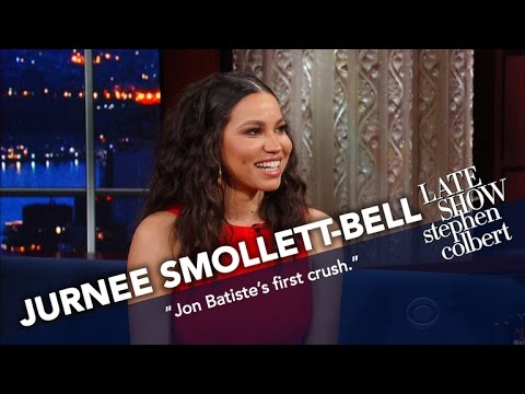 Jurnee Smollett-Bell Is Many Things, Including Jon Batiste's First Crush