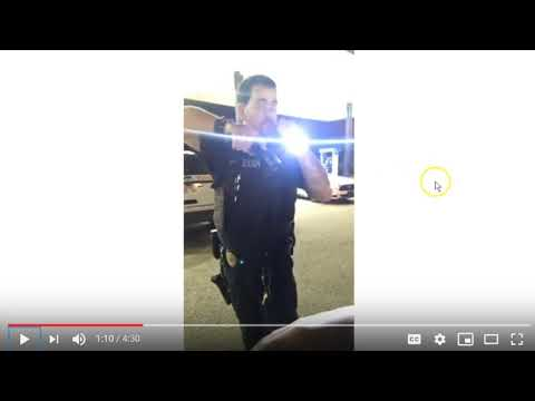 This Appears To Be Bad Police Behavior & Makes Me Question The Credibility Of This Officer