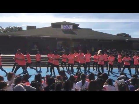 Lynbrook High Sophomore Powderpuff 2015-16 class of 2018