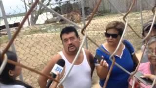 Protesta por obra del Túnel Sumergido en Coatzacoalcos