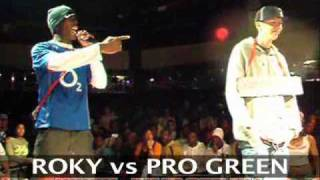 Professor Green vs Roky £2000 MC Rap Battle Final (The Jump Off 68)