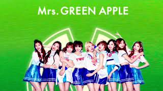 mrs.green appleとtwiceの曲を合体させてみた