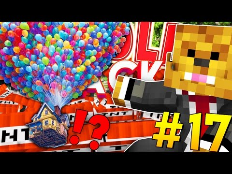 HOUSE FROM THE MOVIE UP (FLYING HOUSE AIRSHIP MOD) - Minecraft TROLL PACK #17