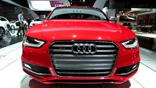 2013 Audi S4 - Exterior and Interior Walkaround - 2012 Los Angeles Auto Show