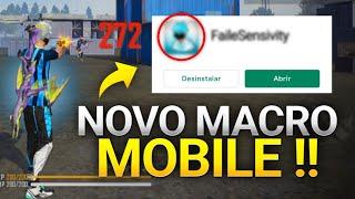 APLICATIVO DE MACRO MOBILE! 🎯 ATIVE ESSA FUNÇÃO SECRETA AGORA! Sensibilidade Nível HACKER! Free Fire