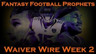 Fantasy Football 2018 Week 2 Waiver Wire