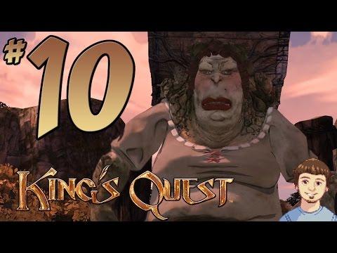 King's Quest 2015 Walkthrough - PART 10 - Snarling Snarlax, Secret Password & Bridge Troll Meeting!