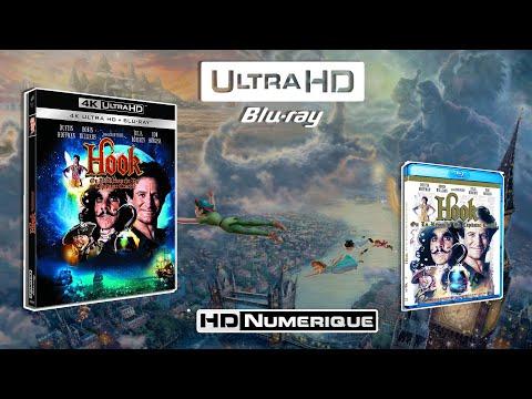 Hook (MASTER 4K) : Comparatif 4K Ultra HD vs Blu-ray