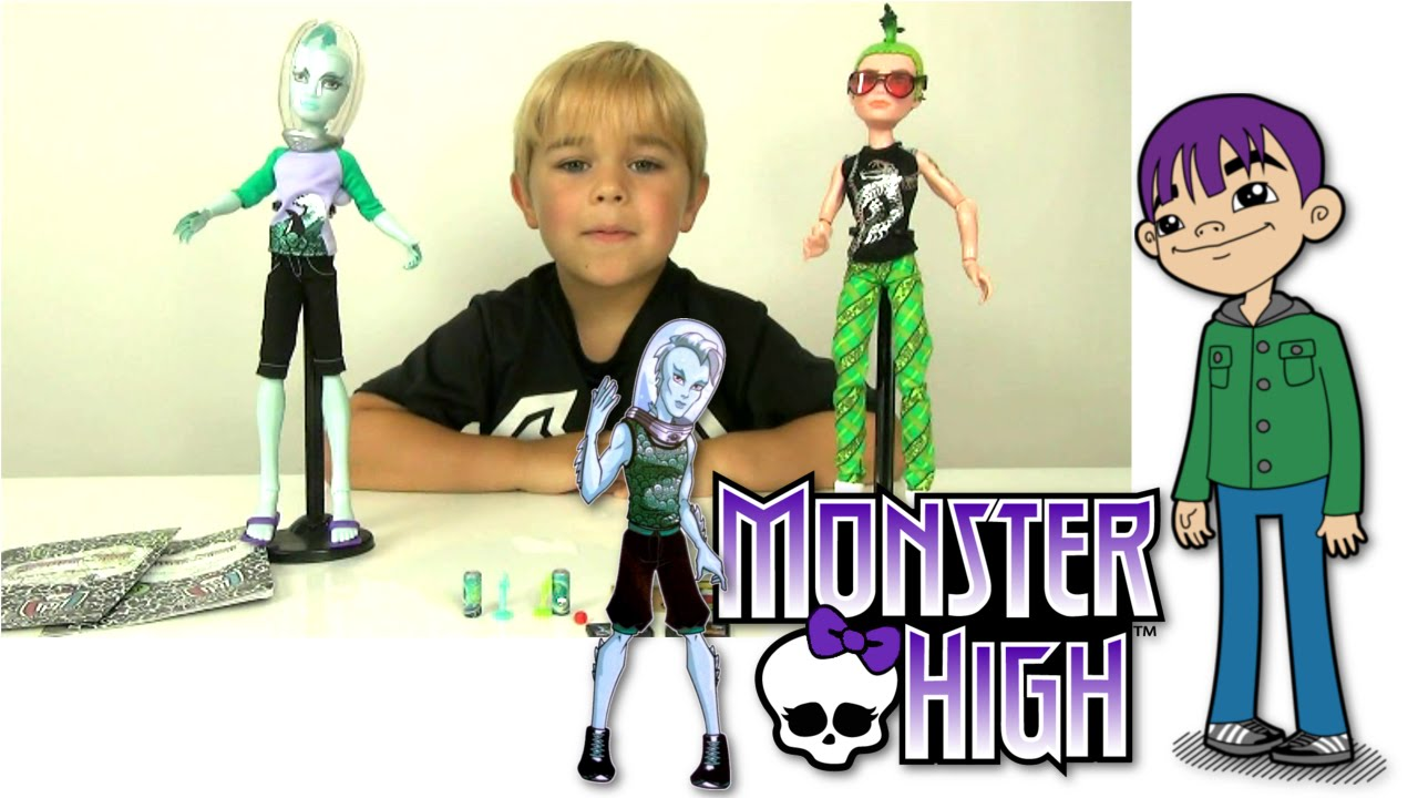 monster high manster 2 pack with deuce and gil doll review