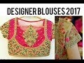 TOP DESIGNER WORK BLOUSES  COLLECTION || Latest South Indian Fashion