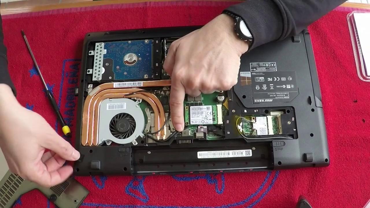 Upgrade Msi Ge60 2pe Apache Pro Ssd Raid0 250 Gb 250 Gb Youtube