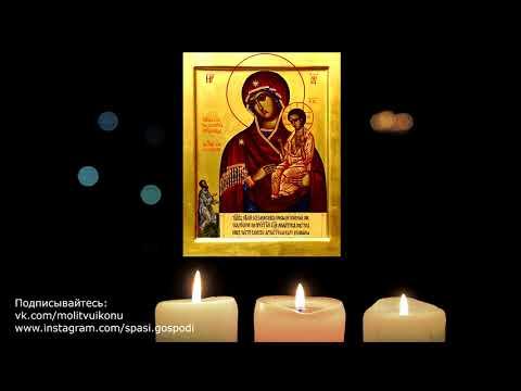 Молитва иконе Нечаянная радость о даровании детей, беременности, замужестве