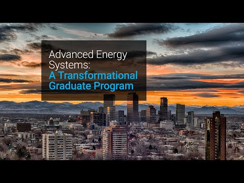 Jump-start Your Energy Career With Colorado School Of Mines And NREL