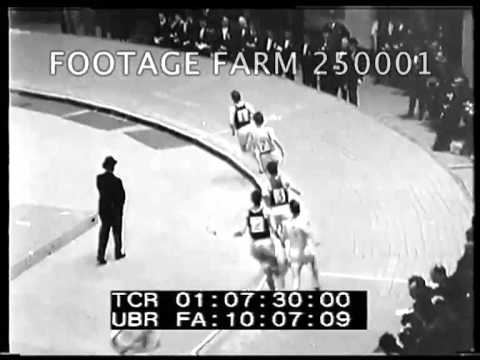 Track & Field: Cunningham Sets Mile Record 250001-07   Footage Farm