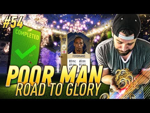 COMPLETED PRIME 90 ICON FERDINAND FOR CHEAP - Poor Man RTG #54 - FIFA 18 Ultimate Team