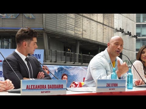 """BAYWATCH"" PRESSCONFERENCE IN BERLIN"