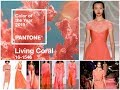 Living Coral - Pantone Color of the Year 2019 \ Fashion Outfits Inspiration