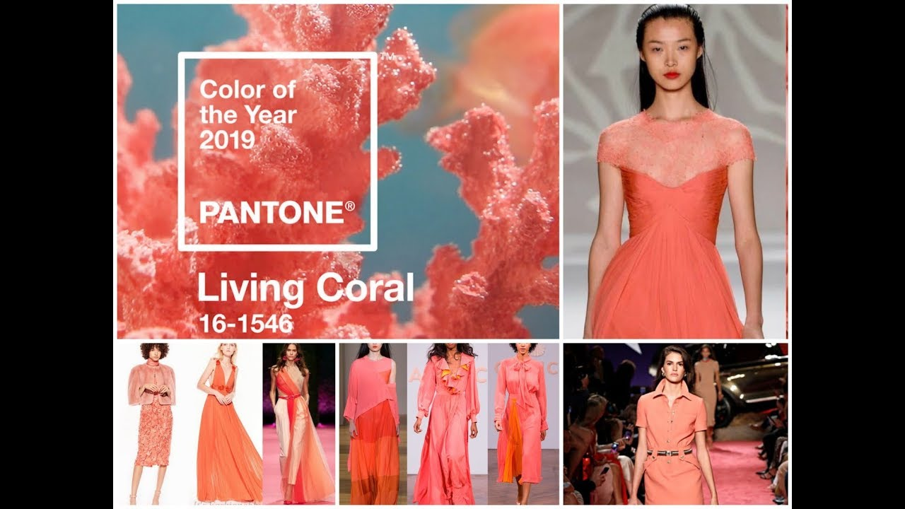 Living coral pantone color of the year 2019 fashion - Color for new year 2019 ...
