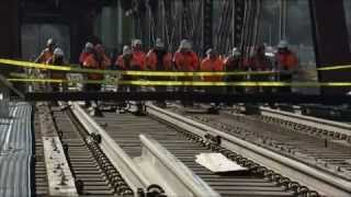BNSF celebrates opening of new Burlington Bridge