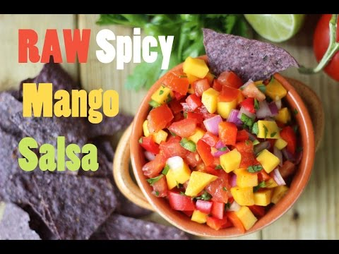 Raw Spicy Mango Salsa | Healthy Summer Recipes