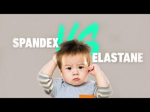 Spandex Vs Elastane - What's The Difference? (Sportswear Secrets)