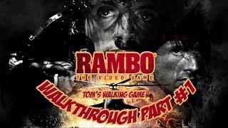 Nejhorší hra všech dob?   Rambo The Video Game   Walkthrough part #1