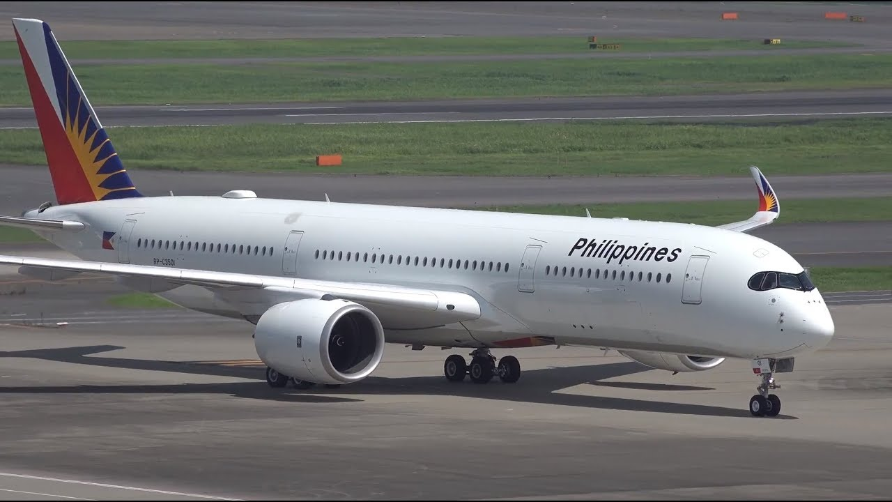 Philippine Airlines 1st Airbus A350-900 RP-C3501 [HND/RJTT ...  Philippine Airl...