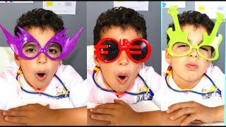 SAMI Pretends Play as Optician,colored glasses ,Videos for Children