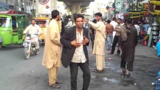 Funny Dance on Road Near Data Darbar
