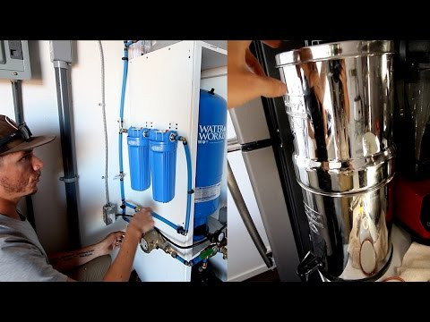 How We're Filtering Our Off Grid Rainwater