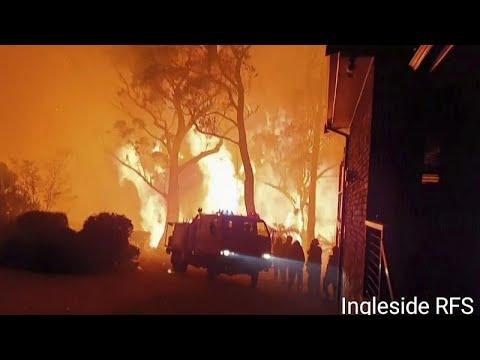 Austrália: Incêndios descontrolados no estado de Vitória