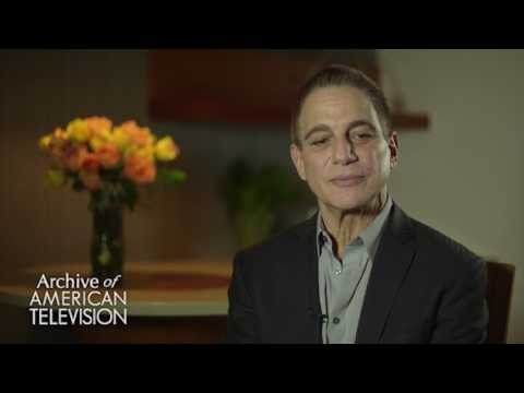 Tony Danza discusses working with his son Marc Anthony on