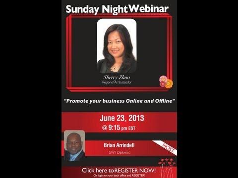 Promote your business Online and Offline Webinar