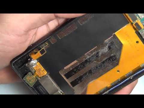 Замена экрана (дисплея) Sony Xperia Z3 D6603 D6633 D6643 D6653 D6616 L55t Replacement LCD Z3