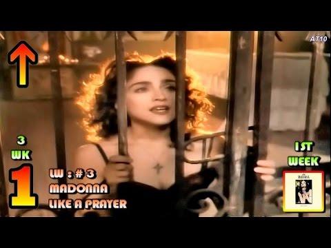 4.22.1989 - Top 10 Chart - Madonna's 7th No.1 Song