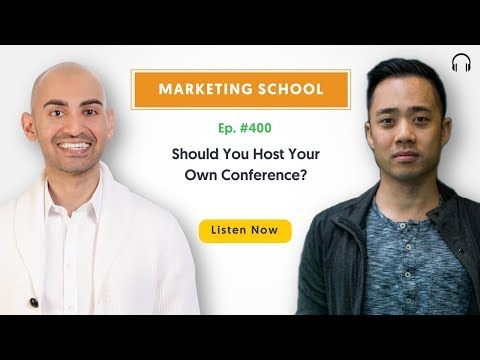 Should You Host Your Own Conference?   Ep. #400