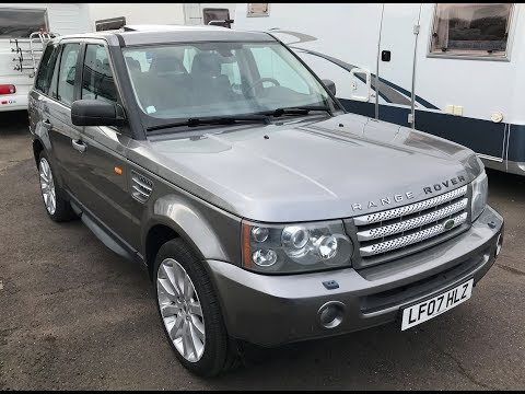 2007 LAND ROVER RANGE ROVER SPORT TDV8 HSE  SUV REVIEW