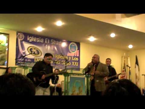 EL Shaddai Chicago Pastor ALberto Guzman Singing along.