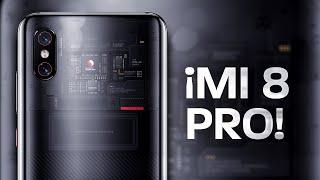 El teléfono TRANSPARENTE | Xiaomi Mi 8 Pro
