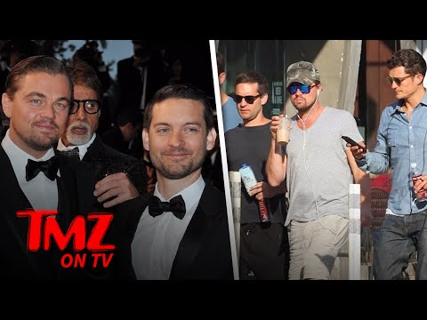 Leonardo DiCaprio and Tobey Maguire's Entourage Adds A New Friend | TMZ TV