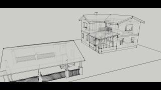 Как сделать проект дома. Проект двухэтажного дома (серия 3)(Как сделать проект дома самостоятельно. С чего начать делать проект для строительства дома. Ссылка на..., 2015-10-12T15:52:37.000Z)