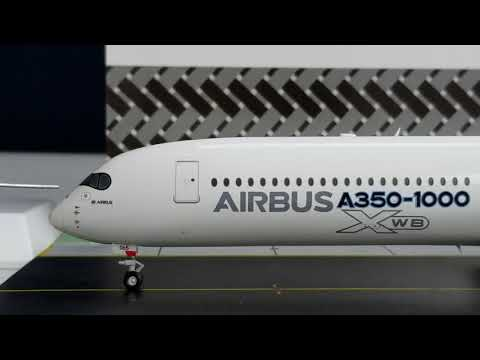 JC Wings 200 Airbus A350-1000XWB(Carbon Fiber Livery)Review FHD(Full High Definition)