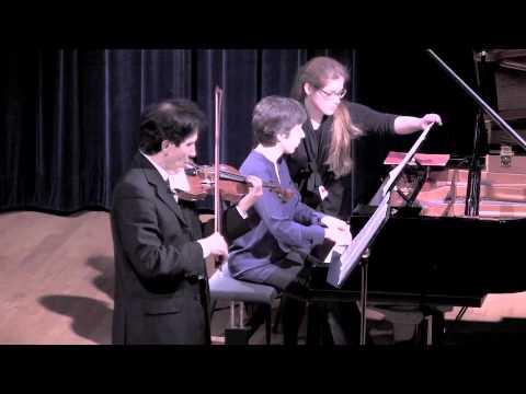 D.Chostakovitch sonate op.134 Allegretto (2) Patrick Chemla (violon)