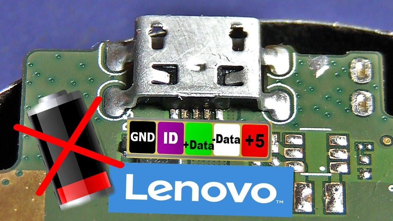 Lenovo S6000 not charging , micro USB broken , FULL Repair / Оторванный коннектор
