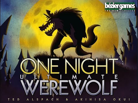 One Night Ultimate Werewolf Sample Game Philippines