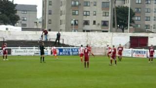 East Fife: Kevin Fotheringham Scores v Arbroath (11/08/2007)