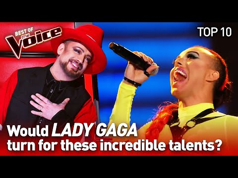 LADY GAGA's Biggest HITS In The Voice   TOP 10