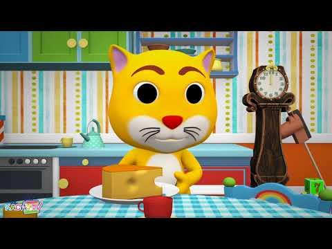 Hickory Dickory Dock, Nursery Rhyme, Baby Song by Kachy TV Nursery Rhymes – Kids Songs