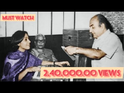 Usha Khanna (music director ) remembers Rafi Saheb and how she is praising Him.